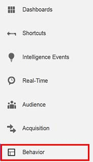 measure your site audience behaviour to find who to target