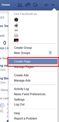 Set up your facebook business page so you can run facebook remarketing ads