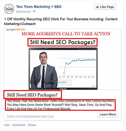 Those who see your offer are high interest targets. Dont give up too soon and continue to retargeting them with new ads and mindsets