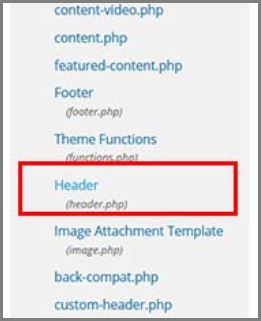 Install your retargeting pixel in the header.php